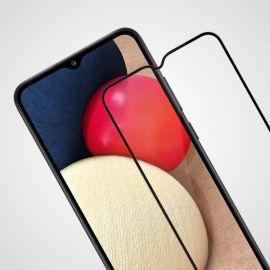 10D juodas apsauginis ekrano stikliukas Samsung Galaxy A02s