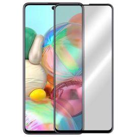 10D juodas apsauginis ekrano stikliukas Samsung Galaxy M51