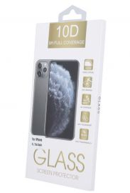 10D juodas apsauginis ekrano stikliukas Xiaomi Redmi Note 9T 5G