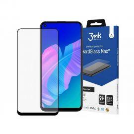 "3D Juodas apsauginis stiklas Huawei P40 Lite ""3MK Hard Glass Max"""