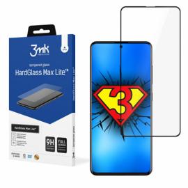 "3D Juodas apsauginis stiklas Samsung Galaxy A715 A71 / A725 A72 ""3MK Hard Glass Max Lite"""