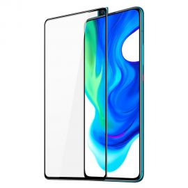 "3D Juodas apsauginis stiklas Xiaomi Poco F2 Pro ""3MK Hard Glass Max"""
