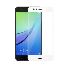 5D baltas apsauginis ekrano stikliukas Huawei P10