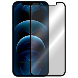 5D juodas apsauginis ekrano stikliukas Apple iPhone 12 Pro Max