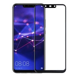 5D juodas apsauginis ekrano stikliukas Huawei Mate 20 Lite
