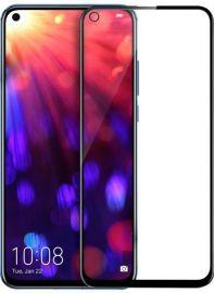 5D juodas apsauginis ekrano stikliukas Huawei Nova 4 / Honor View 20