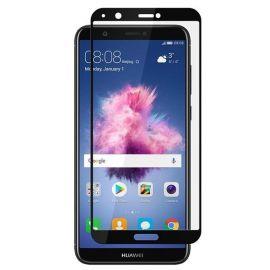 5D juodas apsauginis ekrano stikliukas Huawei P Smart