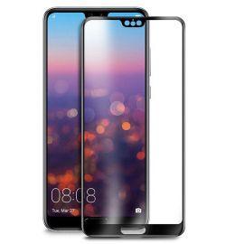 5D juodas apsauginis ekrano stikliukas Huawei P20 Pro / P20 Plus