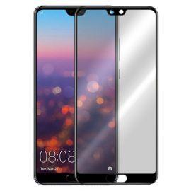 5D juodas apsauginis ekrano stikliukas Huawei P20