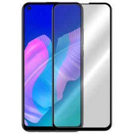 5D juodas apsauginis ekrano stikliukas Huawei P40 Lite E / Y7 P