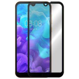 5D juodas apsauginis ekrano stikliukas Huawei Y5 2019