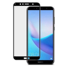 5D juodas apsauginis ekrano stikliukas Huawei Y6 2018