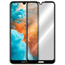 5D juodas apsauginis ekrano stikliukas Huawei Y6 2019 / Y6 Pro 2019