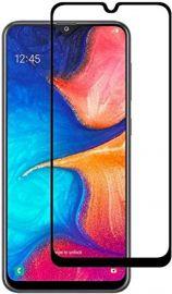 5D juodas apsauginis ekrano stikliukas Samsung Galaxy A202 A20e