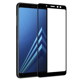 5D juodas apsauginis ekrano stikliukas Samsung Galaxy A530 A8 2018