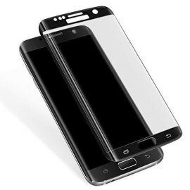 5D juodas apsauginis ekrano stikliukas Samsung Galaxy G935 S7 Edge