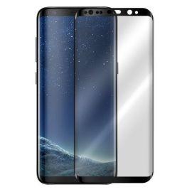 5D juodas apsauginis ekrano stikliukas Samsung Galaxy G955 S8 Plus