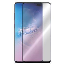 5D juodas apsauginis ekrano stikliukas Samsung Galaxy G975 S10 Plus (Be išpjovimo)