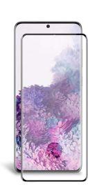 5D juodas apsauginis ekrano stikliukas Samsung Galaxy G981 S20 (Su išpjovimu)