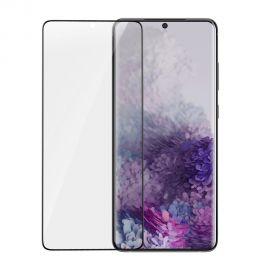 5D juodas apsauginis ekrano stikliukas Samsung Galaxy G986 S20 Plus (Be išpjovimo)