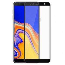 5D juodas apsauginis ekrano stikliukas Samsung Galaxy J415 J4 Plus 2018 / J610 J6 Plus 2018