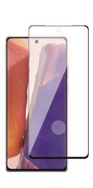 5D juodas apsauginis ekrano stikliukas Samsung Galaxy N980 Note 20