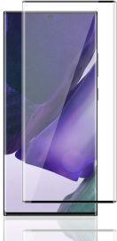 5D juodas apsauginis ekrano stikliukas Samsung Galaxy N985 Note 20 Ultra (Su išpjovimu piršto antspaudui)
