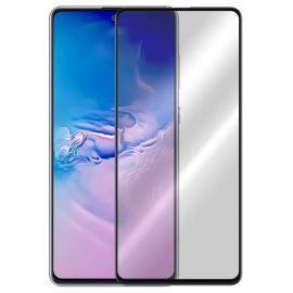 5D juodas apsauginis ekrano stikliukas Samsung Galaxy S10 Lite / G770 / A91