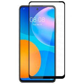 5D juodas apsauginis ekrano stikliukas Xiaomi Redmi K30 / Huawei P Smart 2021