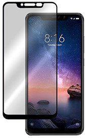 5D juodas apsauginis ekrano stikliukas Xiaomi Redmi Note 6 / Note 6 Pro