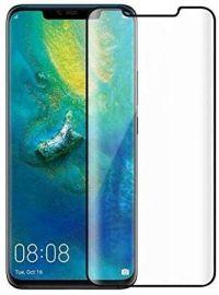 9D juodas apsauginis ekrano stikliukas Huawei Mate 20 Pro