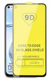 9D juodas apsauginis ekrano stikliukas Huawei P40 Lite