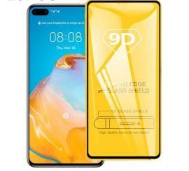 9D juodas apsauginis ekrano stikliukas Huawei P40 Pro