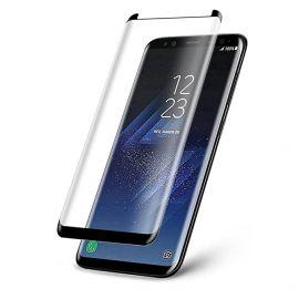 9D juodas apsauginis ekrano stikliukas Samsung Galaxy G950 S8