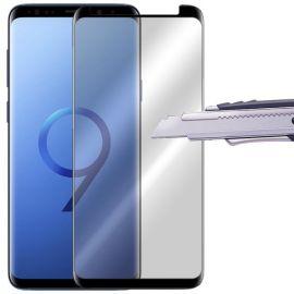 9D juodas apsauginis ekrano stikliukas Samsung Galaxy G960 S9