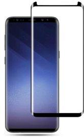9D juodas apsauginis ekrano stikliukas Samsung Galaxy G965 S9 Plus