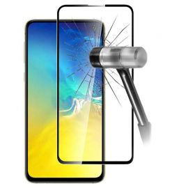 9D juodas apsauginis ekrano stikliukas Samsung Galaxy G970 S10e