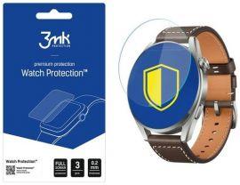 """Apsauginė ekrano plėvelė Flexible Glass Huawei Watch 3 Pro """"3MK Flexible Glass"""" 3vnt"""