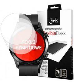 "Apsauginė ekrano plėvelė Huawei Watch GT 2 46mm ""3MK Flexible Glass"" 3vnt"