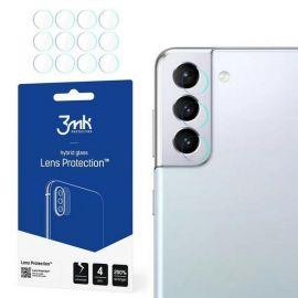 """Apsauginė plėvelė galiniai kameriai Samsung Galaxy S21 Plus  """"3MK Hybrid Glass"""""""