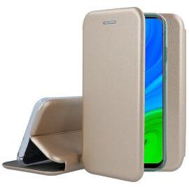 """Auksinės spalvos atverčiamas dėklas Huawei P Smart 2020 """"Book Elegance"""""""