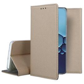 """Auksinės spalvos atverčiamas dėklas Huawei P40 """"Smart Magnet"""""""