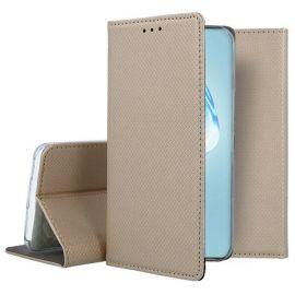 """Auksinės spalvos atverčiamas dėklas Samsung Galaxy G986 S20 Plus """"Smart Magnet"""""""