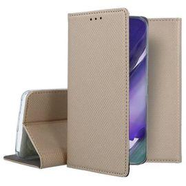 """Auksinės spalvos atverčiamas dėklas Samsung Galaxy Note 20 Ultra """"Smart Magnet"""""""