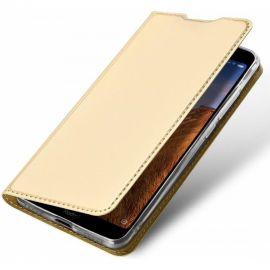"""Auksinės spalvos atverčiamas dėklas Xiaomi Redmi 8 """"Dux Ducis Skin Pro"""""""
