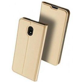 """Auksinės spalvos atverčiamas dėklas Xiaomi Redmi 8A """"Dux Ducis Skin Pro"""""""