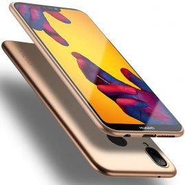 """Auksinės spalvos dėklas Huawei P20 Lite """"X-level Guardian"""""""
