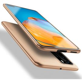 """Auksinės spalvos dėklas Huawei P40 """"X-level Guardian"""""""