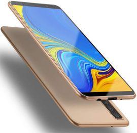 """Auksinės spalvos dėklas Samsung Galaxy A750 A7 2018 """"X-level Guardian"""""""
