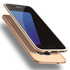 """Auksinės spalvos dėklas Samsung Galaxy G930 S7 """"X-level Guardian"""""""